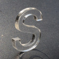 "Acrylic Letter - 1/4"" thick 