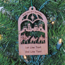 Nativity Ornament - Wise Men Still Seek Him