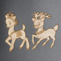 Reindeer  -  Laser Engraved and cut from Baltic Birch Plywood.