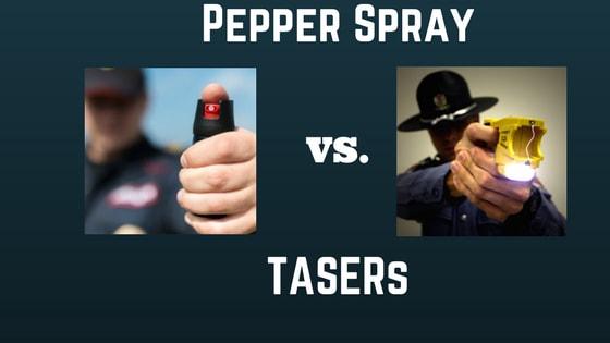 pepper spray vs tasers the best choice for self defense stun