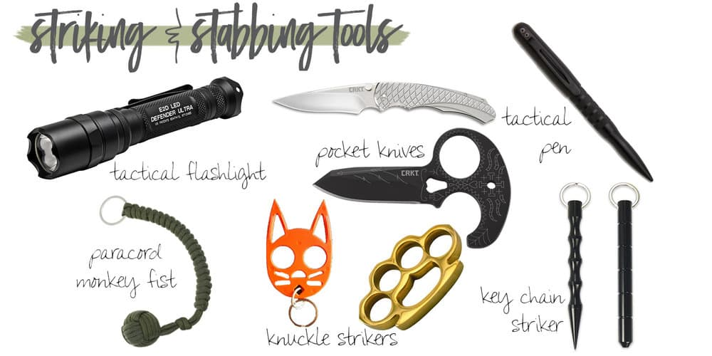 Self Defense Striking Tools Guide