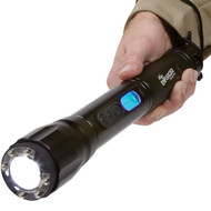 ZAP Enforcer 2 Million Volt Stun Gun Flashlight with wrist strap