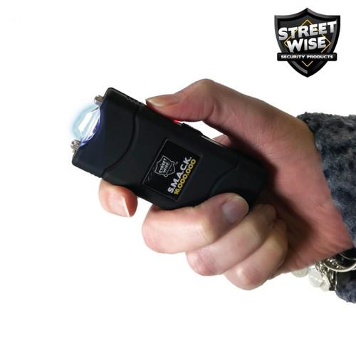 Streetwise SMACK 16 Million Volt Keychain Stun Gun in Hand