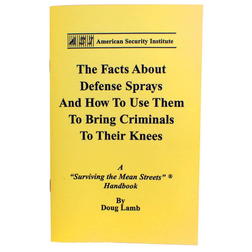 Tactical Use of Defense Sprays
