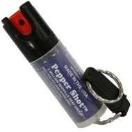 Pepper Spray w/ Quick Release Key Chain open