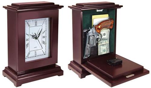 Tall Rectangular Gun Concealment Clock