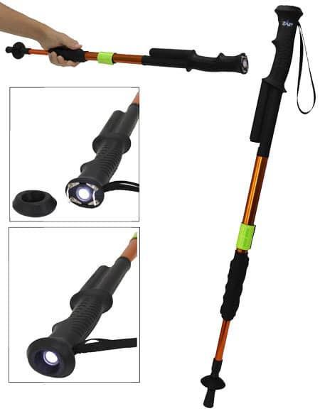 ZAP Hike n' Strike Stun Gun Hiking Staff