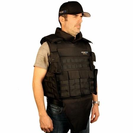 Bulletsafe alpha combat ready bulletproof vest level for Best shirt to wear under ballistic vest