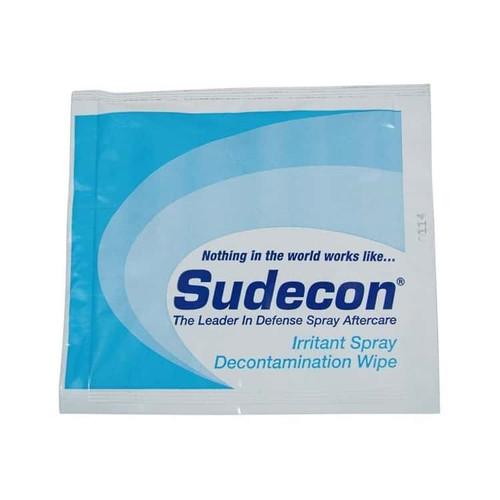 Sudecon Pepper Spray Decontamination Wipes