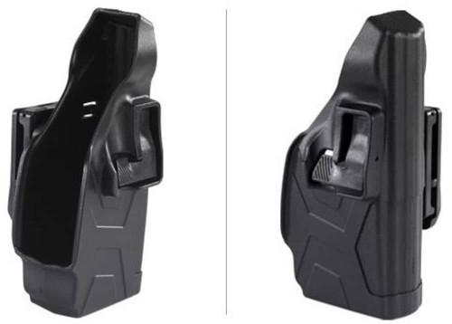 Taser X2 Defender Blackhawk! Holster Side-View