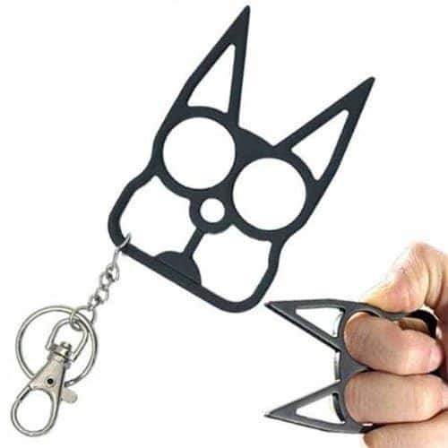 Black Cat Self Defense Keychain Self Defense Keychains