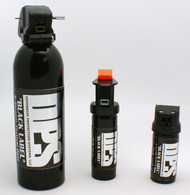 DPS Black Label Pepper Spray sizes with 3oz