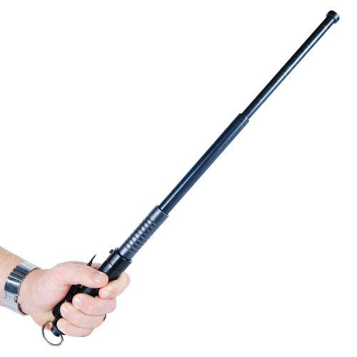 Automatic Expandable Steel Baton - 21 Inches In Hand