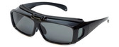 Calabria Flip-Up Fitover Polarized Sunglasses