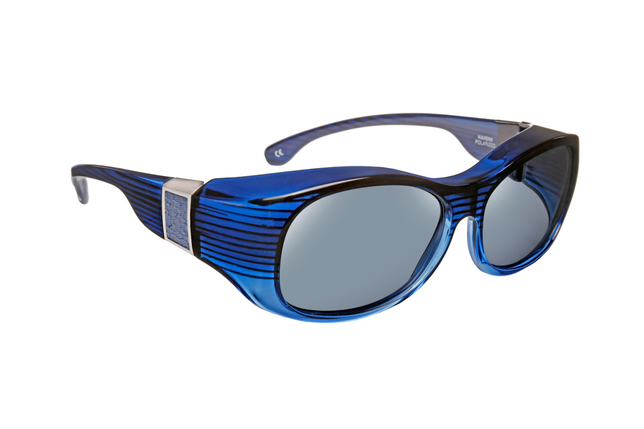 3f7ff38b0d0 Haven Designer Fitover Sunglasses Sunset in Sapphire with Smoke ...