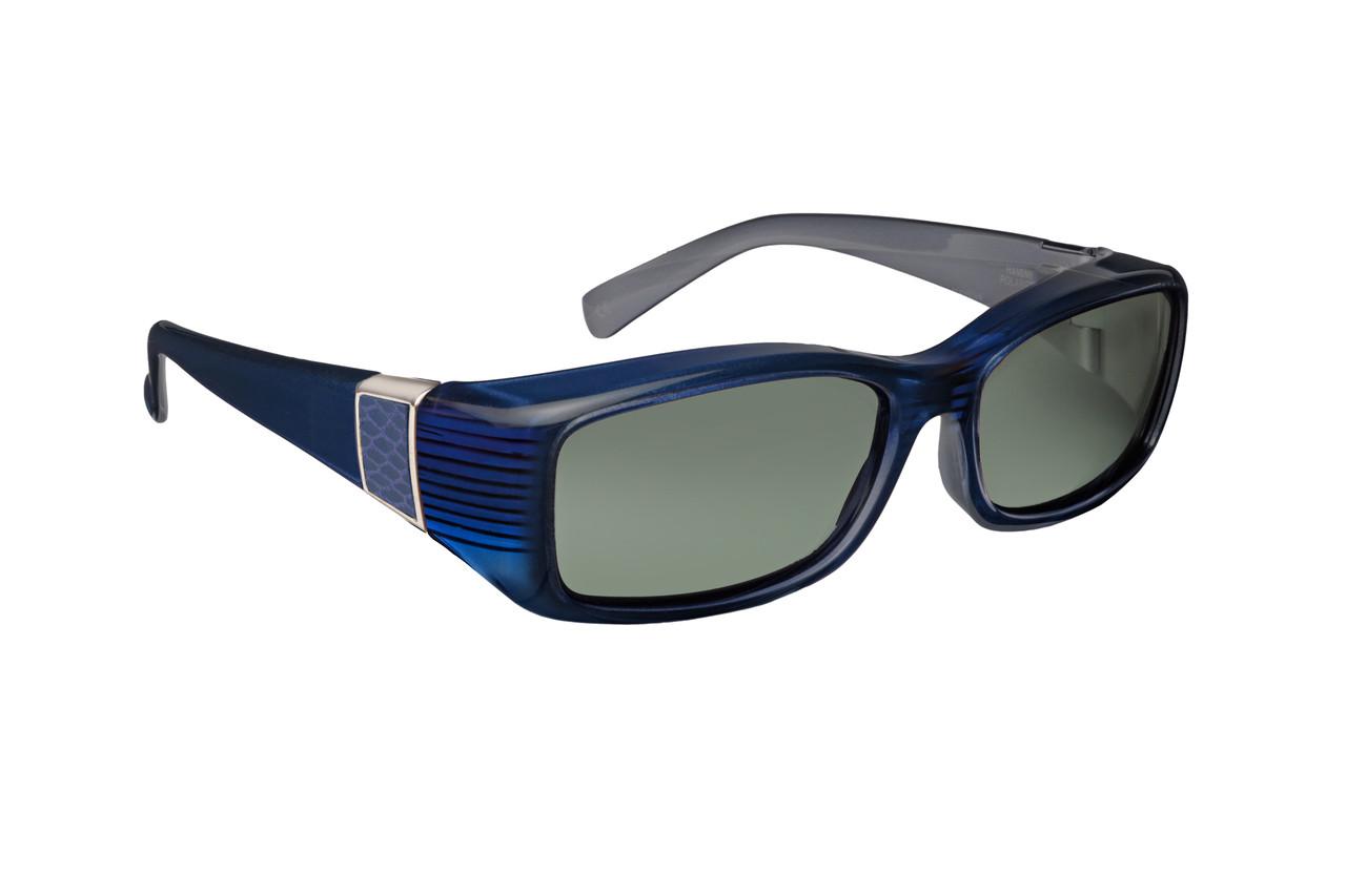 ae7dac4c839 Haven Designer Fitover Sunglasses Freesia in Sapphire with Smoke ...