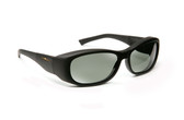 Haven Designer Fitover Sunglasses Solana in Black & Polarized Grey Lens (MEDIUM/LARGE)