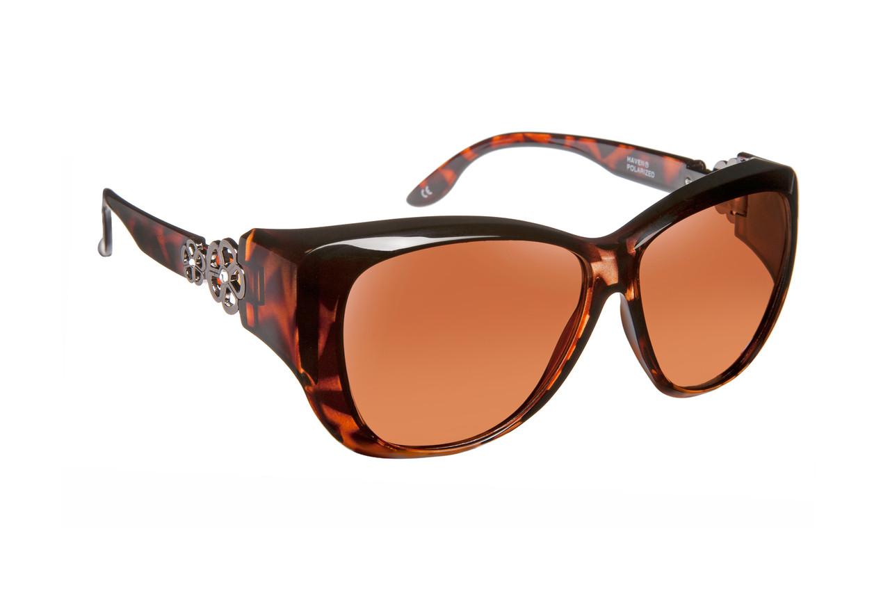 50e066b9e50 Haven Designer Fitover Sunglasses Manhattan in Tortoise   Polarized ...