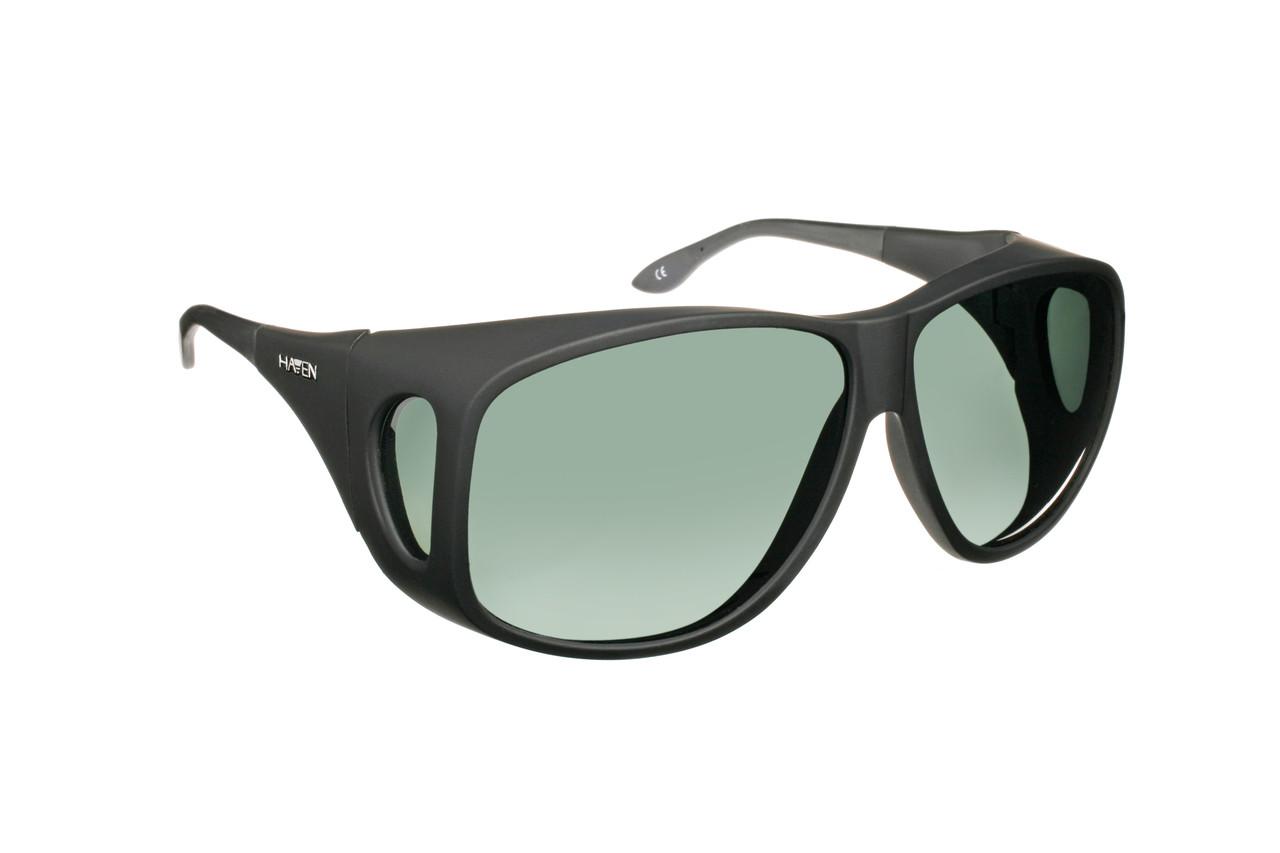 986053f25f6 Haven Designer Fitover Sunglasses Banyan in Black   Polarized Grey ...