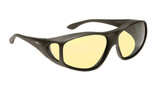 d0688af7f4 Haven Designer Fitover Sunglasses Night Driver in Black   Night Driver  Yellow Lens ...