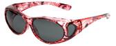 Calabria PC8866POL-JP-2 Polarized FitOver Sunglasses Medium Size