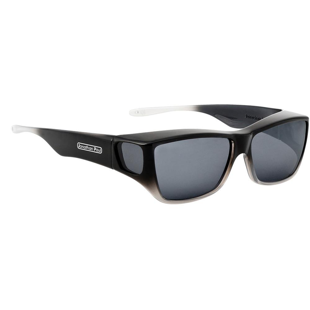 e6750c7ab0 Jonathan Paul® Fitovers Eyewear Large Traveler in Black Grey Ombre ...