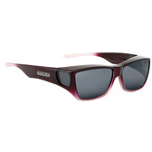 Jonathan Paul® Fitovers Eyewear Large Traveler in Plum Pink Ombre & Gray TL005