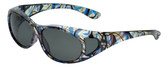 Calabria RS2866POL-JP2 Polarized FitOver Sunglasses with Rhinestone Medium Size