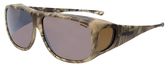 Jonathan Paul® Fitovers Eyewear X-Large Aviator Kryptek in Highlander & Amber