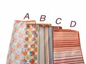 Orange Print High Quality Cleaning Cloth