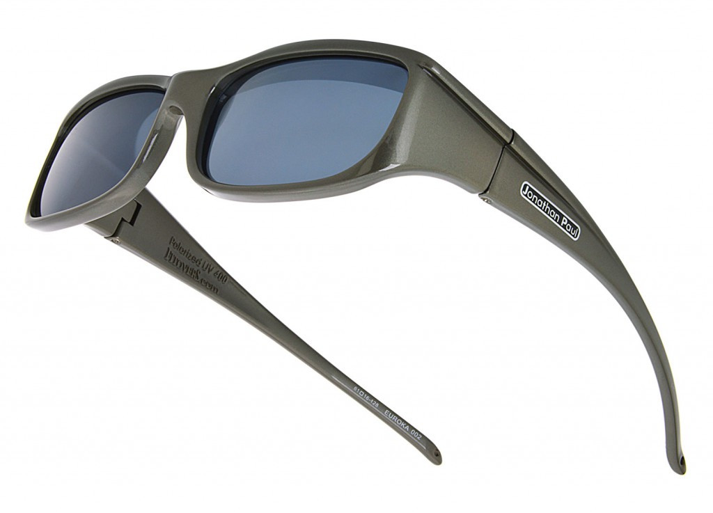 9a956511247e Jonathan Paul® Fitovers Eyewear Small Euroka in Gun-Metal   Gray EU002