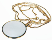 MG2015G 4x Magnifier Necklace in Gold