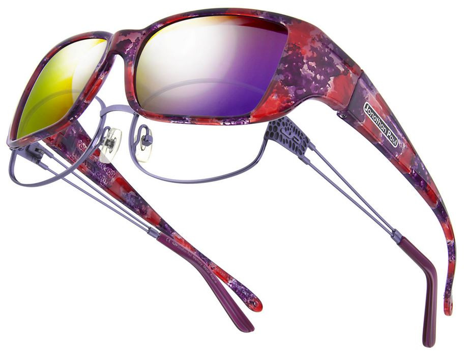 b24cda953b35 Jonathan Paul® Fitovers Eyewear Small Nowie in Berry-Crush   Purple Mirror  NW002PM