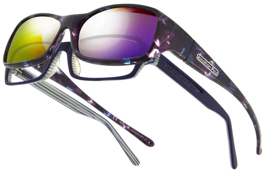 aa8e79379b8 Jonathan Paul® Fitovers Eyewear Large Mooya in Mother-Pearl   Purple Mirror  MY001PM