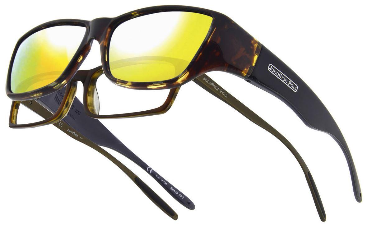 6dcdf679481 Jonathan Paul® Fitovers Eyewear Large Neera in Leopard-Black   Gold Mirror  NR003YM