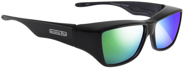 b418aab82a Jonathan Paul® Fitovers Eyewear Large Neera in Midnite Oil   Green Mirror  NR001GM - Fitover USA