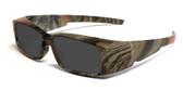 Brown Frame & Grey Lens