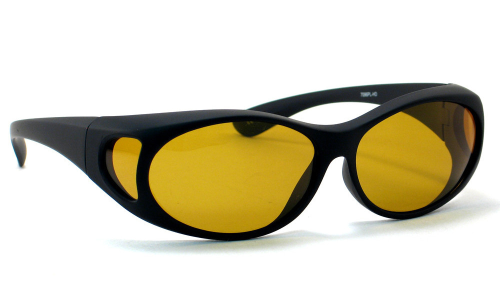 0ad423593a4 7096PL High Definition Yellow Polarized Fitovers - Fitover USA
