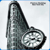 New York Scenery Cleaning Cloths: Flatiron-Building