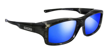 8b61381f67 Jonathan Paul® Fitovers Eyewear X-Large Yamba in Blue Marble   Blue Mirror  YM002BM - Fitover USA