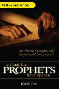 Tout ce qu'ont dit les prophètes (anglais) (version numérique)