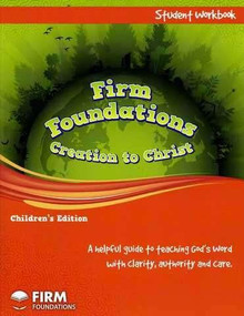 Children's Firm Foundations Workbook (en anglais seulement)