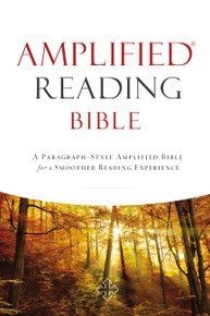Amplified Reading Bible, Hardcover (anglais seulement)