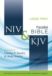 NIV and KJV Side-by-Side Bible, Large Print, Hard Cover