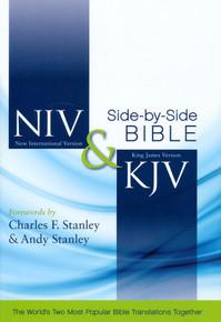 NIV and KJV Side-by-Side Bible, Hard Cover