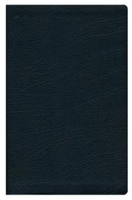 ESV Large Print Thinline Bible, Black Genuine Leather