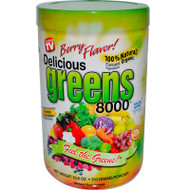Greens World Delicious Greens 8000 Berry - 10.6 oz