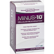 Natrol Minus-10 Cellular Rejuvenation - 120 Tablets