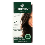 Herbatint Haircolor Kit Ash Chestnut 4c - 4 Fl Oz