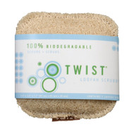 Twist Scrubby - Loofah - Case Of 12 - 1 Count